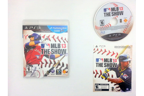 MLB 13 The Show game for Sony Playstation 3 PS3 -Complete ...