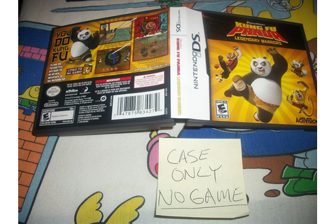 Kung Fu Panda Nintendo DS CASE ONLY NO GAME Legendary ...