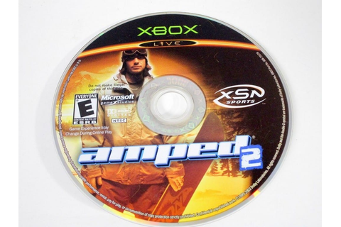 Amped Snowboarding 2 game for Xbox (Loose) | The Game Guy
