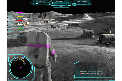 Space-Themed Games – NASA Moonbase Alpha | Austin Tate's Blog