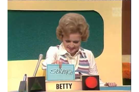 Match Game — Betty & Allen Question 2 - YouTube