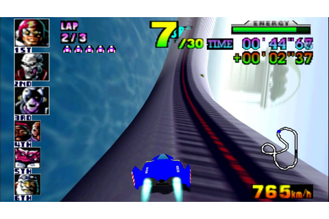F-Zero X (N64) walkthrough - Big Blue - YouTube
