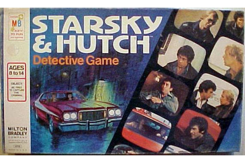 Starsky and Hutch Detective Game | Board Game | BoardGameGeek