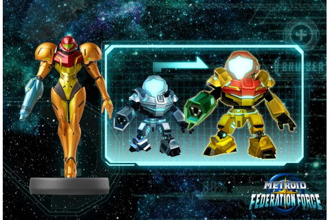 Metroid Prime: Federation Force amiibo Support Revealed ...