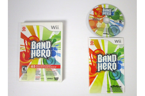 Band Hero game for Wii (Complete) | The Game Guy
