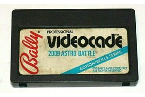 Bally Professional Videocade 2009 Astro Battle Game ...