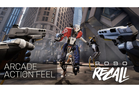 Robo Recall - Arcade Action Feel - YouTube