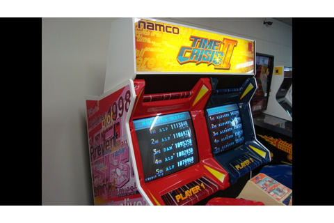 Namco's Time Crisis II Arcade Game Cabinet - 2 Player Epic ...