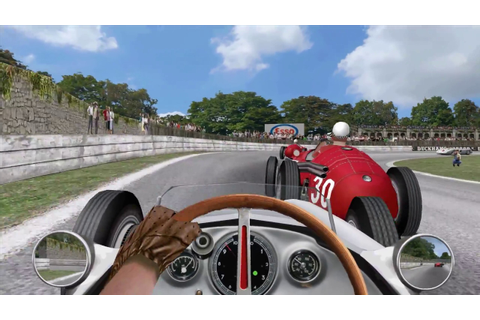 GRAND PRIX LEGENDS | 1955 Mod (Gameplay) | Crystal Palace ...