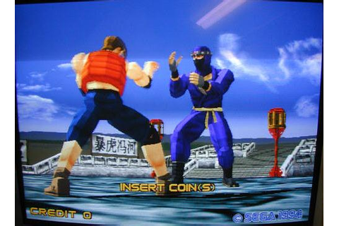 Sega MEGA DRIVE Frenzy - Virtua Fighter 2 on Virtual Console