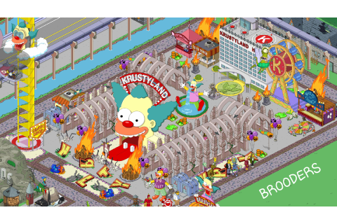 Springfield Game Simpsons