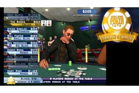 World Series of Poker: Tournament of Champions ... (PS2 ...