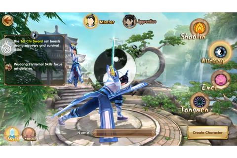 Age of Wushu Dynasty Gameplay (Wudang) IOS / Android - YouTube