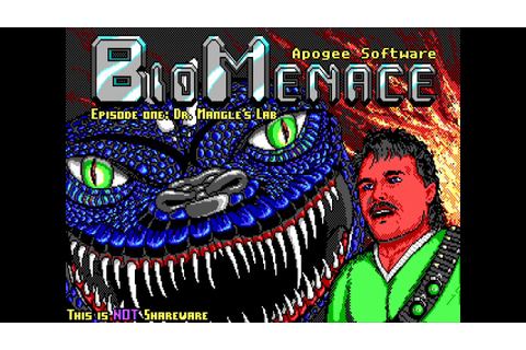 Bio Menace gameplay HD (1993, Apogee Software) - YouTube