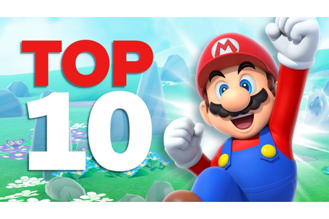 Top 10 Best Mario Games - YouTube