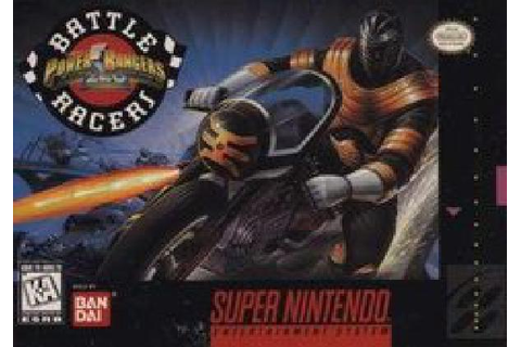 Power Rangers Zeo Battle Racers - Super Nintendo » Super ...