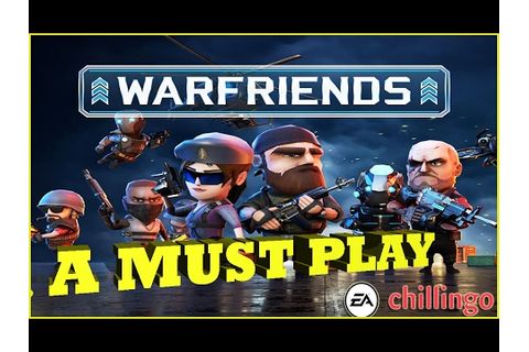 WARFRIENDS (Addictive New Game) Mini Militia & Clash Of ...