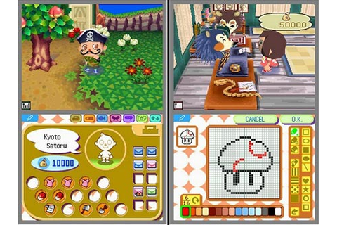 Test : Test de Animal Crossing: Wild world | Square Palace