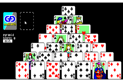 Solitaire Royale (1988) by Game Arts NEC PC8801 game