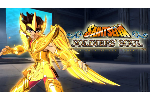 Saint Seiya Soldiers Soul Gameplay Trailer PS4/PS3/PC [19 ...
