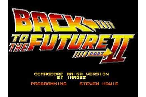 Back to the future part 2 video game - YouTube