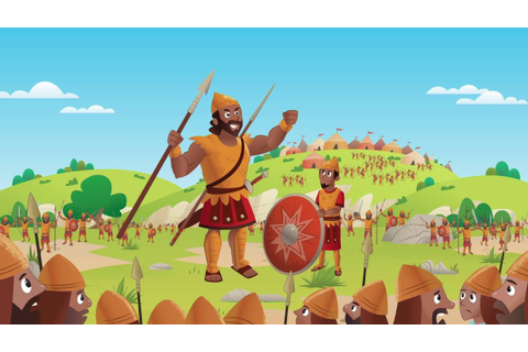Bible App for Kids - Stones Slings and Giant Things (David ...