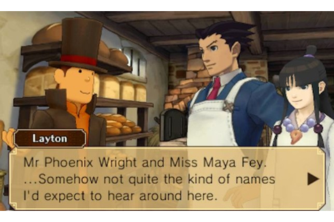 Professor Layton Vs. Phoenix Wright: Ace Attorney review ...