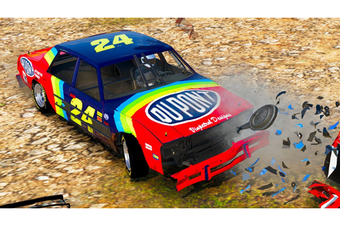 NASCAR LEGENDS CRAZY DEMOLITION DERBY! - Next Car Game ...