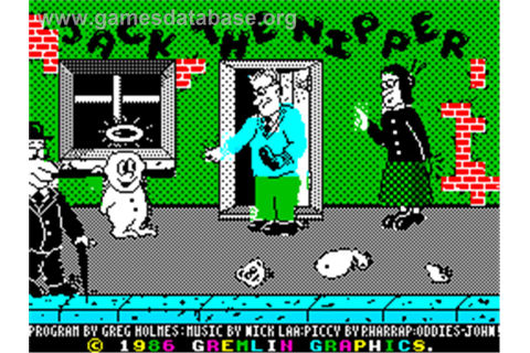 Jack the Nipper - Sinclair ZX Spectrum - Games Database