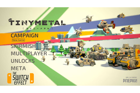 [Review] Tiny Metal - Nintendo Switch - The Switch Effect