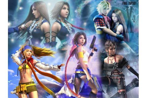 Final Fantasy X 2 Series Yuna Games Video Hd Wallpaper ...