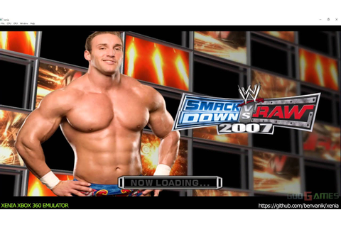 Xenia Xbox 360 Emulator - WWE SmackDown vs Raw 2007 Ingame ...