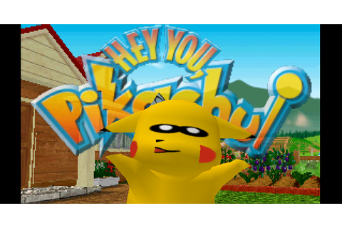 GLideN64: Hey You, Pikachu!