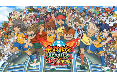 Inazuma Eleven Strikers 2012 Xtreme Trailer - YouTube