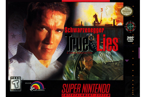 True Lies SNES Super Nintendo