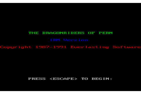 Download Dragonriders of Pern - My Abandonware
