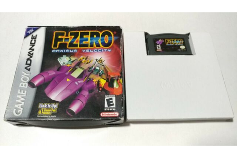 F-Zero: Maximum Velocity (Nintendo Game Boy Advance, 2001 ...