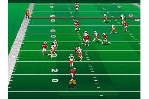 College Football USA 96 | SSega Play Retro Sega Genesis ...