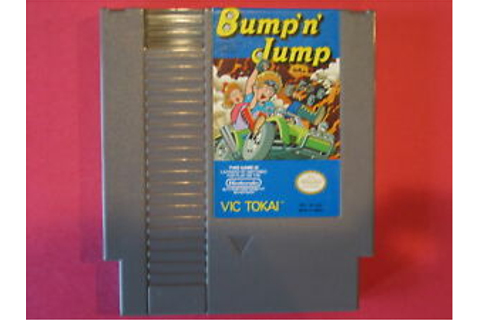 BUMP N JUMP and ORIGINAL GAME SYSTEM NINTENDO NES HQ | eBay