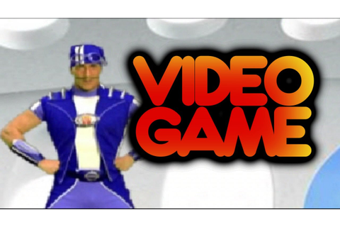 Lazy Town Video Game Sports Candy Sprint Gameplay - YouTube