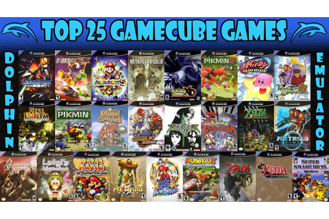 Dolphin Emulator | Top 25 Nintendo GameCube Games of All ...