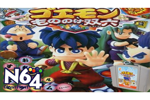 Goemon Mononoke Sugoroku - The N64 Japanese Eye - YouTube