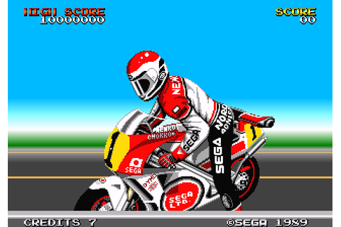 VGJUNK: RACING HERO (ARCADE)