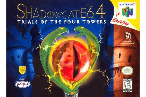 Shadowgate 64 Trials of the Four Towers Nintendo 64 Game