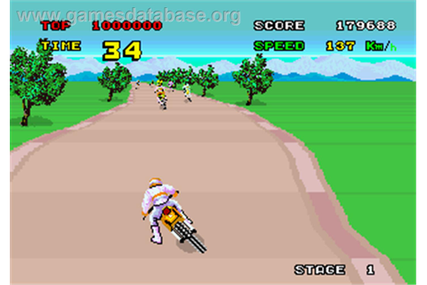 Enduro Racer - Arcade - Games Database