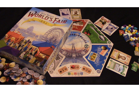 Jeremy Reviews It... - Worlds Fair 1893 (2016) Board Game ...