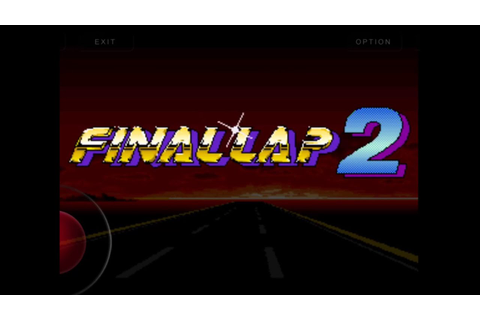 Final Lap 2: Arcade(via MAME for iOS). - YouTube