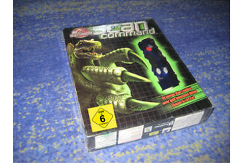 Jurassic Park: Scan Command Game PC BIG BOX Barcodes Spiel ...