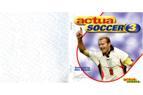 Actua Soccer 3 (PC) – The Gremlin Graphics Archive