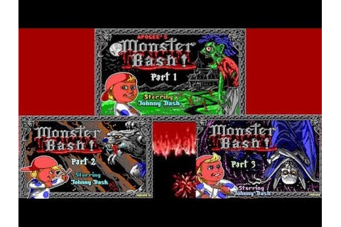 Monster Bash 1993 - Full Game Play/Guide - YouTube